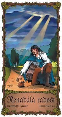 Nenadálá radost - Cikánská karta