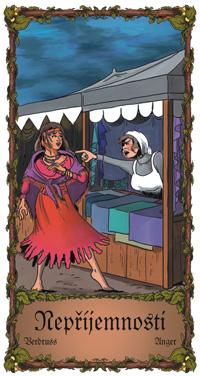 Nepříjemnosti - Cikánská karta