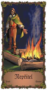 Nepřítel - Cikánská karta