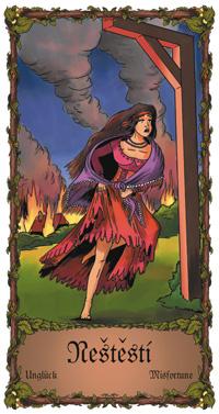 Neštěstí - Cikánská karta