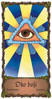 Oko Boží - Cikánská karta