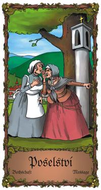 Poselství - Cikánská karta