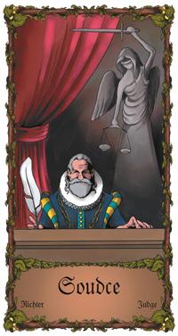 Soudce - Cikánská karta
