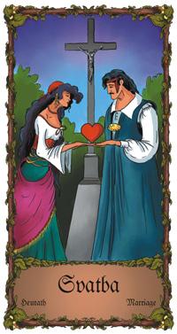Svatba - Cikánská karta