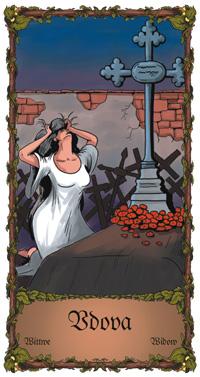 Vdova - Cikánská karta