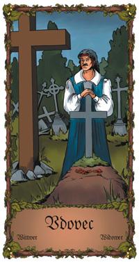 Vdovec - Cikánská karta