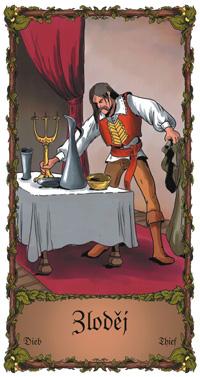 Zloděj - Cikánská karta