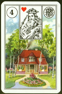 Dům - Karta Lenormand