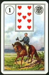 Jezdec - Karta Lenormand