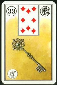Klíč - Karta Lenormand