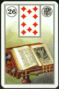 Kniha - Karta Lenormand