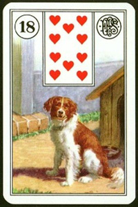 Pes - Karta Lenormand