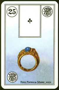 Prsten - Karta Lenormand