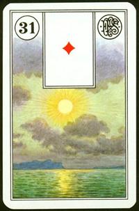 Slunce - Karta Lenormand