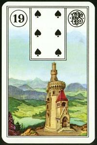 Věž - Karta Lenormand
