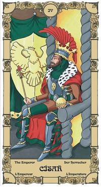 Císař Tarot karta