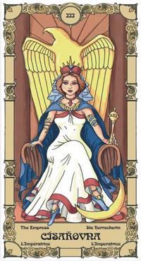 Císařovna Tarot karta
