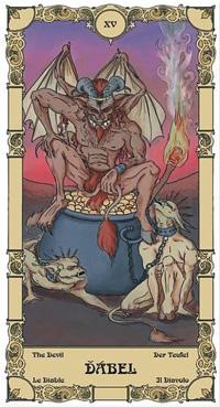 Ďábel Tarot karta