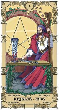 Kejklíř - Mág Tarot karta
