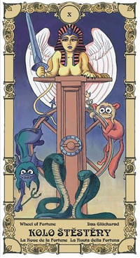 Kolo štěstěny Tarot karta