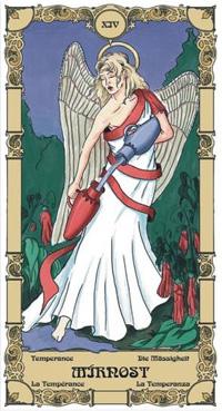 Mírnost Tarot karta