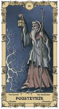 Poustevník Tarot karta