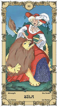 Síla Tarot karta