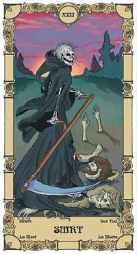 Smrt Tarot karta