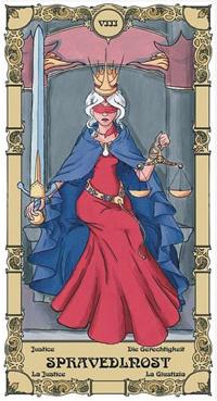 Spravedlnost Tarot karta