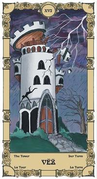 Věž Tarot karta