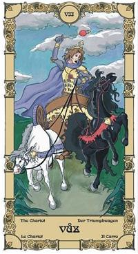 Vůz Tarot karta