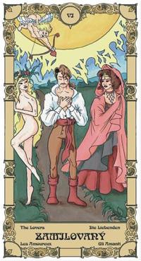 Zamilovaný Tarot karta