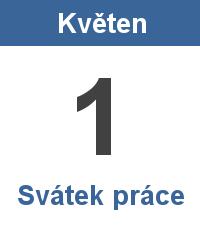 Státní svátek 1. Květen - Svátek práce | Najdise.cz