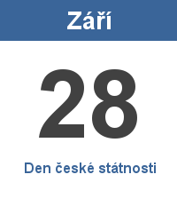 Státní svátek 28.9. - Den české státnosti